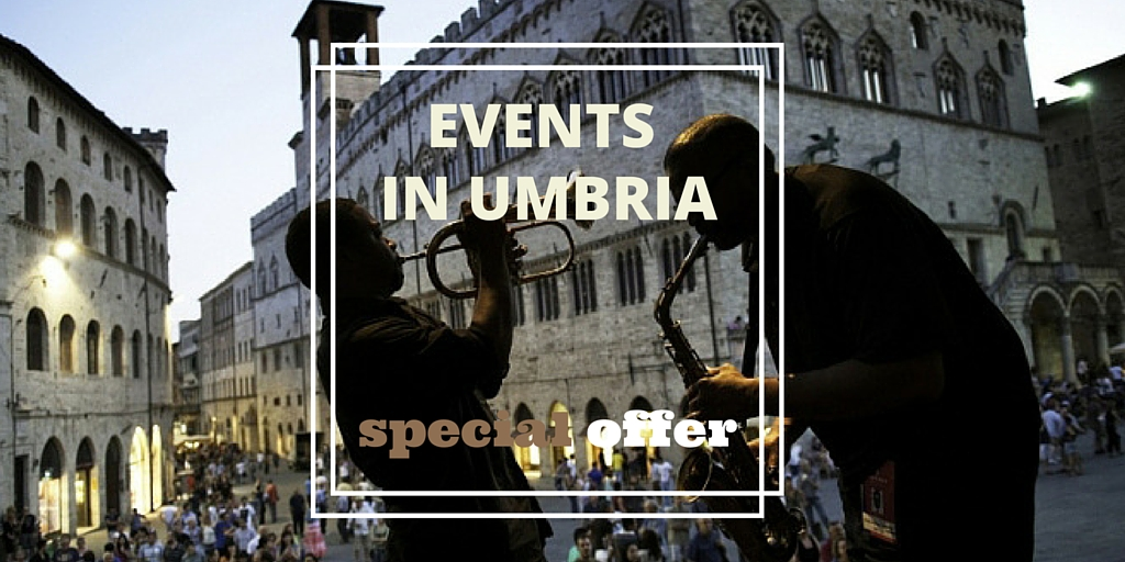 Events in Umbria Special Offer