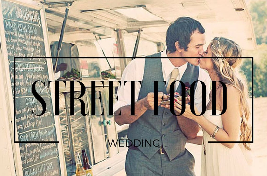 Street Food Wedding Theme