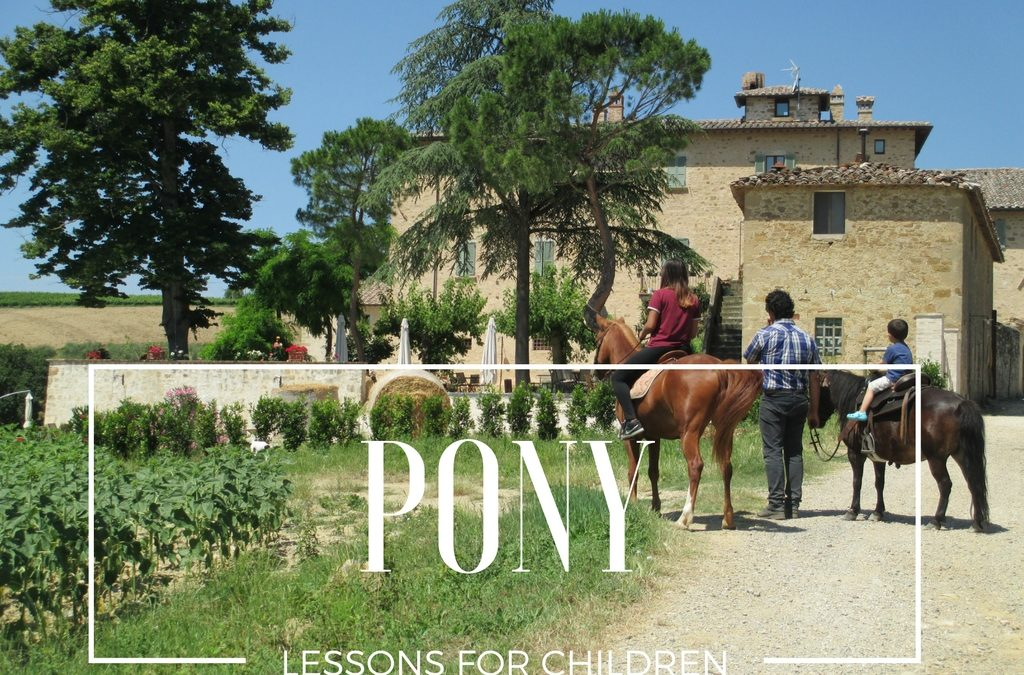 PONY lessons for children